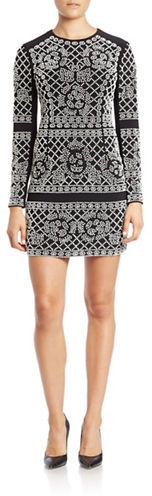 Xscape Beaded Sheath Dress