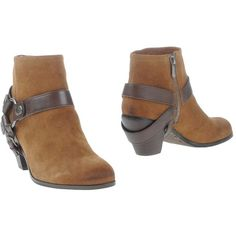 Sam Edelman Ankle Boots ($88) ❤ liked on Polyvore featuring shoes, boots, ankle booties, camel, leather boots, ankle boots, camel ankle boots, sam edelman booties and zip ankle boots