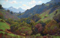 """""""Spring in the Canyon"""" 1926 -- Laguna Art Museum"""