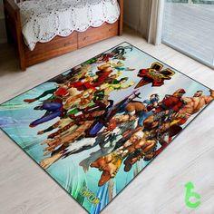 #street #fighter5 #Blanket #quilt #throws #cartoon #animation #kids #beddroom #bedding #giftidea #present #birthday #favorite