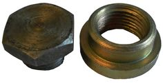 Mild Steel Oxygen Sensor weld on Nut & Bung, 18mm x 1.5 thread