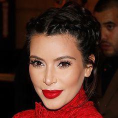 Kim Kardashian's red lips - handbag.com - the best red lipsticks Love her make-up