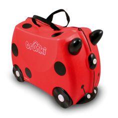 Valise pour enfant motif coccinelle / trotteur Rouge - Trunki ride - Vélos et porteurs pour enfants - Les jeux et jouets - Univers des enfants - Décoration d'intérieur - Alinéa