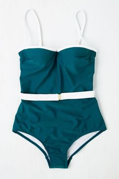 Under $100 Finds From Modcloth To Scoop Up Now #refinery29  http://www.refinery29.com/modcloth-clothes-under-100-dollars#slide-30  A swimsuit worthy of a Bond girl.