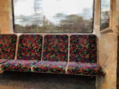 Perth Flies by an empty train from Joondalup