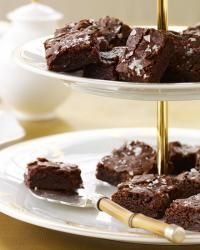 Salted Fudge Brownies | Kate Krader has been making these fudgy, sweet-salty brownies since she was 10 years old. As a kid she used regular table salt; now she recommends a flaky sea salt like Maldon, because the flavor is less harsh and it melts so nicely into the batter, accentuating the chocolaty sweetness.