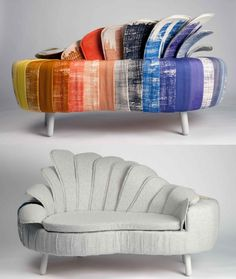 Ditte Maigard - Split Personality Sofa