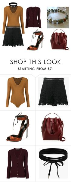 """""""Early September"""" by aqualyra ❤ liked on Polyvore featuring Gig, Zimmermann, Tom Ford, Céline Lefébure, Versace, Boohoo, classic, romantic and latesummer"""