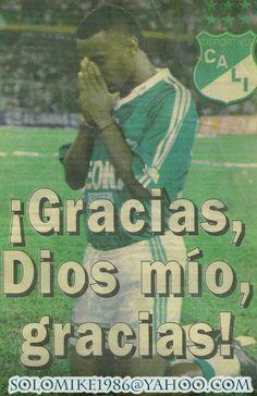 ¡Gracias, Dios mio por ser del Deportivo!
