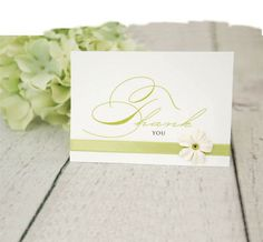 Michaels.com Wedding Department: Thank You Card Let the spirit of your DIY celebration continue to bloom even after the event. Adorn fun, festive thank you cards with thin ribbon and a small silk flower.Designed by Gartner