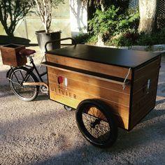Olivier  Wine amp Beer olebikes foodbike triciclo tricycle cargobike