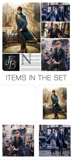 """""""Fantastic Beasts and Where to Find Them"""" by alexandra-provenzano ❤ liked on Polyvore featuring art"""