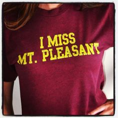 I miss college. Central michigan university. Mt. Pleasant.
