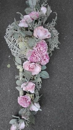 Grave Decorations, Fall Door Decorations, Flower Decorations, Grave Flowers, Funeral Flowers, Funeral Flower Arrangements, Floral Arrangements, Macrame Patterns, Ikebana