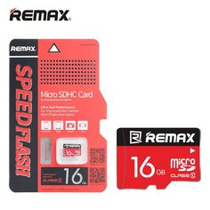 Remax Original 16GB TF Micro SD High-speed Memory Card  Worldwide delivery. Original best quality product for 70% of it's real price. Hurry up, buying it is extra profitable, because we have good production sources. 1 day products dispatch from warehouse. Fast & reliable shipment (7-25...