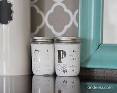 mason jar craft mason jar salt and pepper shakers DIY Mason Jar crafts