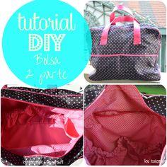 los tutoriales de artbril: DIY- Tutorial cómo hacer un bolso de mano  - 2 ª p...
