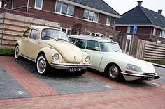 1972 VW Kever & 1973 Citroen DS 23 Break