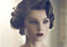 Vintage Hairstyles and Retro Hair Looks For Women