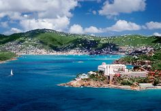 Frenchman's Reef, St. Thomas USVI-my best friend and I used to walk to this hotel and pretend we had been left by our parents.  We took in a few dollars this way, which we immediately would go spend at the snack bar!