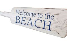 Welcome to the Beach Oar