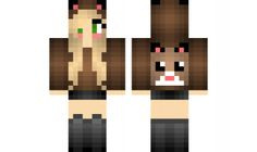 Minecraft skin for Girls Ginnie pig Girl