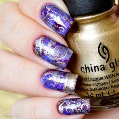 Nail Art Indiana  stamping nail art