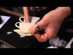 CHA 2015 - Sizzix - Tim Holtz Dies and Surfaces - YouTube