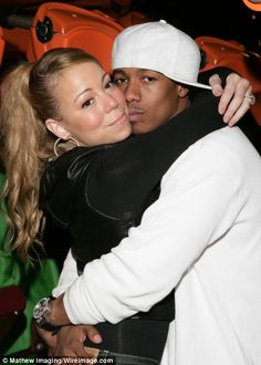 Mariah Carey and Nick Cannon - people hate on them but they seem really happy!