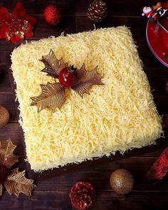 Homebake Snow Cheese Sponge Cake / Cake Keju. Cakenya Lembut dan Kejunya Itu Kuat Banget Bikin Nagih
