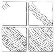 Image result for zentangle patterns step by step