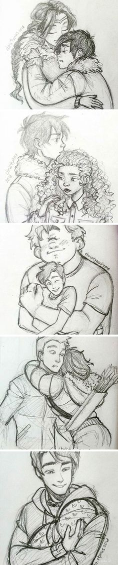 Awww! Credit to the owner <== I LOVE PERCY AND HIS LITTLE SISTER