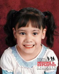 "ENDANGERED MISSING:    DOB:  Mar 18, 2008  Age Now: 3  Missing:  Aug 16, 2008  Sex:  Female  Race:  White  Hair:  Black  Eyes:  Brown  Height:  1'8"" (51cm)  Weight:  16lbs (7kg)  Missing From:  TAMPA  FL  United States    Age Progressed     JORDAN RODRIGUEZ     DOB:  Dec 14, 2005  Age Now: 6  Missing:  Aug 16, 2008  Sex:  Male  Race:  White  Hair:  Black  Eyes:  Brown  Height:  2'6"" (76cm)  Weight:  40lbs (18kg)  Missing From:  TAMPA  FL  United States    Age Progressed     The children's ph..."
