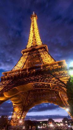 Eiffel tower image via WallpapersHD France Wallpaper, 4 Wallpaper, France Europe, France Travel, Paris France, Places To Travel, Places To See, Travel Destinations, Travel Tips