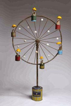 Abstract Sculptures at Page 19 : Kinetic Ferris 2014 Diy Lampe, Metal Garden Art, Bicycle Wheel, Kinetic Art, Found Object Art, Scrap Metal Art, Junk Art, Bike Art, Wire Crafts