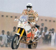 Franco Picco, Yamaha YZE 750, Dakar 1988