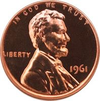 Lincoln Penny 1963 Mint Mark: D Face Value: USD Total Produced: - currency
