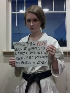 If you punch a boxer, you aren't stealing their time as a professional to see their reaction. You are assaulting them, and the law will recognize this and punish you accordingly. Rape of prostitutes, however, is a much more serious and common abuse, and it is significantly less punished by law enforcement and societally regarded as a non-issue.