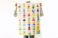 Fisher Price People Poster $23