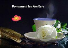 Bon mardi les Ami(e)s #mardi cafe fleur rose