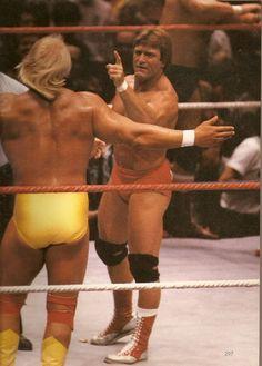 Hulk Hogan vs. Paul Orndorff / Bobby Heenan