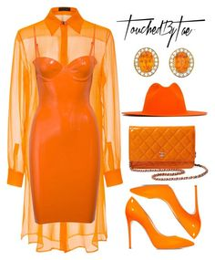 A fashion look from September 2017 featuring latex dress, long sleeve tops and orange shoes. Browse and shop related looks. Fall Fashion Outfits, Look Fashion, Autumn Fashion, Girl Outfits, Womens Fashion, Fashion Design, Emo Outfits, Prep Fashion, Fashion Dresses