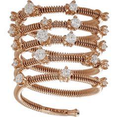 Mattia Cielo Rugiada Five Wrap Diamond Ring