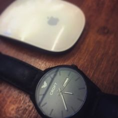 Black and white design perfection. #croftwatches #watches #style #apple #london #leather #watchfam #MyAdventureMyStyle
