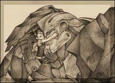 Transformers Prime - Miko and Bulkhead