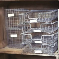 traditional wire letter tray by violette | notonthehighstreet.com