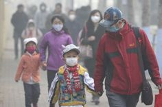 Increased coal consumption has left Shenyang under a blanket of smog