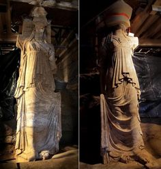 Caryatids' 2300 Years Old Secrets: Marble Door Leads To The Fourth Chamber - MessageToEagle.com
