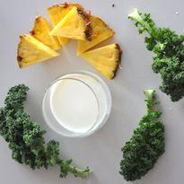 jarmuż ananas kokos