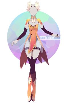 Outfit adoptable 58 (OPEN!!) by Epic-Soldier.deviantart.com on @DeviantArt